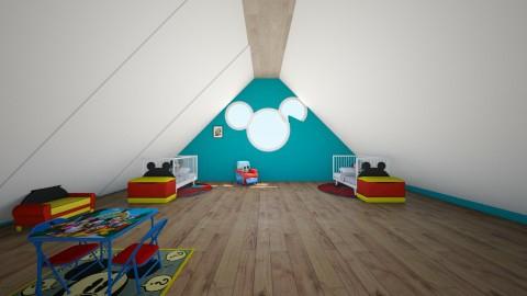 mickey and minnie room - Kids room  - by ilsejanssen