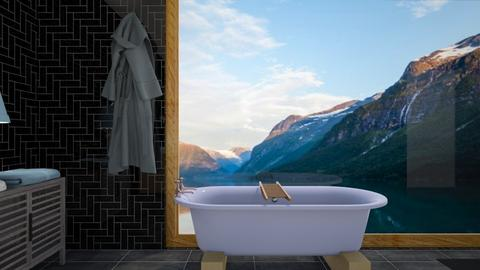 misty morning bath - Country - Bathroom  - by taebay1 OSG