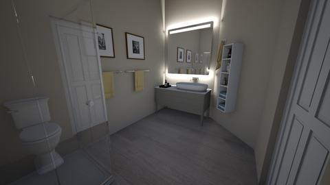 Seinfeld - Living room - by katiebw