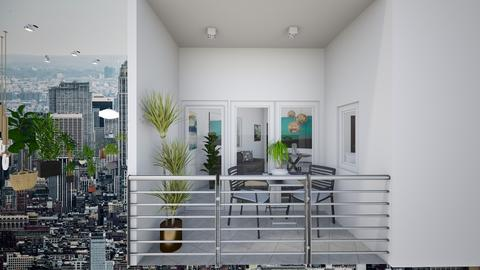 Condo Interiors_Balcony - Modern - Living room - by danes