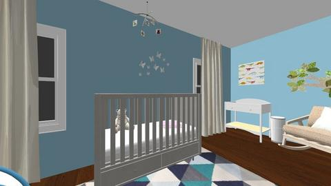 Design a Nursery Project - Kids room  - by camilaney