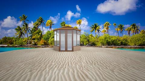 tropical island - by juliaalexandrovn