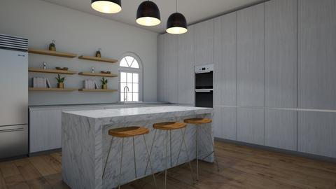 kitchen nature - Kitchen  - by stjdesigner
