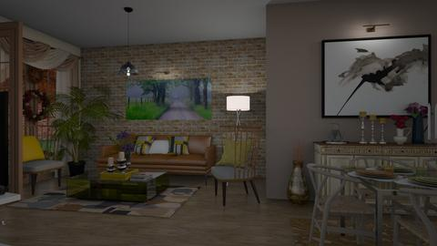Living room Jesen - Classic - Living room  - by Annathea