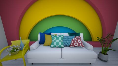 Rainbow - Modern - Living room  - by evabarrett