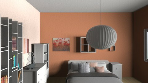 Pink mod - Minimal - Bedroom  - by jeushalumley