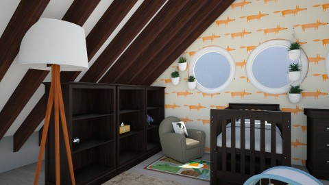 Nursery - Modern - Kids room  - by stokeshannah