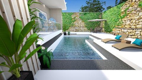 Pool 15 - Garden  - by nanabpf