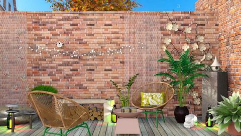 SLP - Garden  - by augustmoon