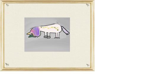 mist unicorn - by luna selvaggia
