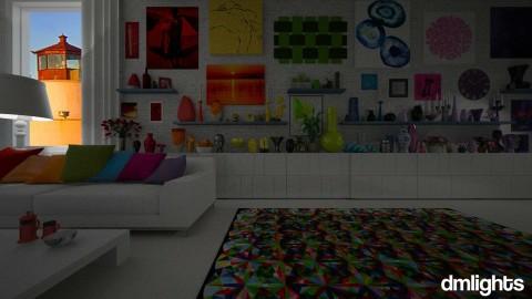 rainbow room - Living room  - by DMLights-user-1118154