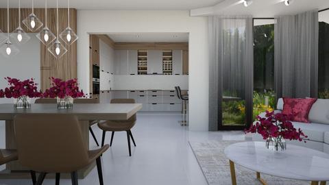 ANDRE H - Modern - Living room  - by szaboi