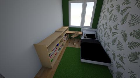 pokoj wojtka wer1 - Kids room  - by Sarcia99