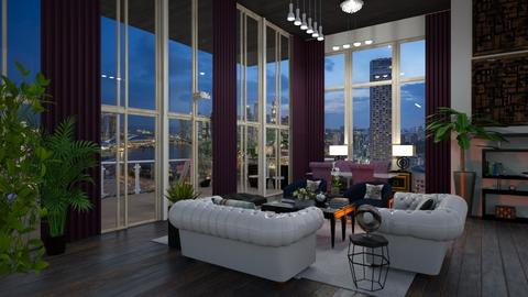 Penthouse - Living room - by Elite1