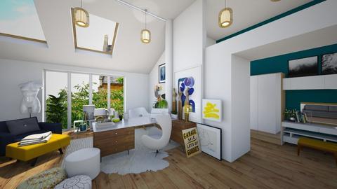 open studio - Bedroom - by hollygilder