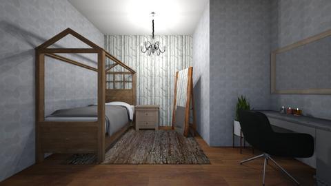modern bedroom - Modern - by jmeyer2x4