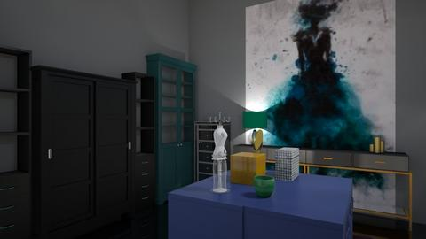 Peacock closet - by fashiondesigner7