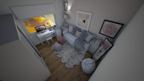 Small Bedroom 42 - by Khayla Simpson