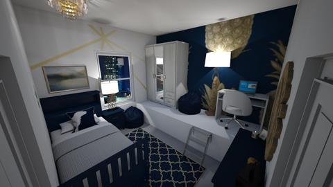 Small Bedroom 23 - Bedroom  - by Khayla Simpson