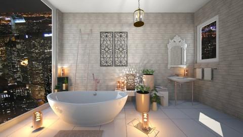 Rose Gold - Bathroom  - by RedVelvet21
