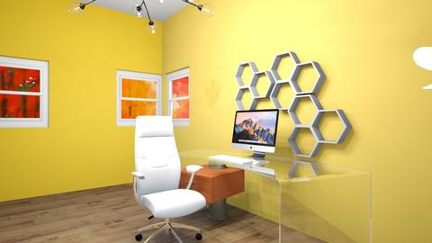 BeeHouse Inspired Office - Office  - by xxxItsDesignerGirl