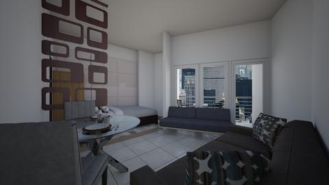 Condo Interiors - Modern - Living room - by danes