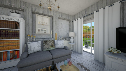 Openings  - Eclectic - Living room  - by mrschicken