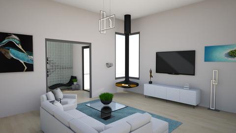 malibu square - Modern - Living room  - by rcrites457