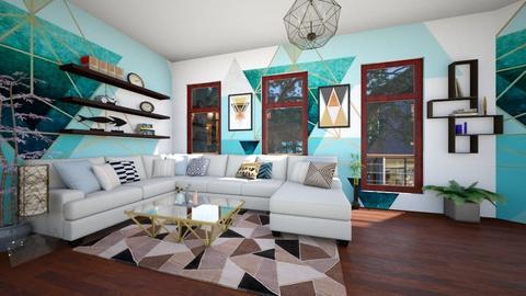 Geometric Design - Living room - by rinoah