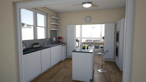 Family_kitchen_dini_v12_1 - Living room - by natajax