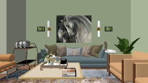 home Glass - Living room  - by Njabulo Mtungwa