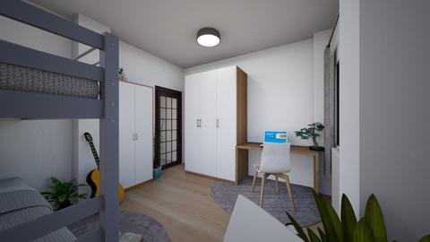 Tumblr bedroom v2 - Minimal - Bedroom  - by doveskyler