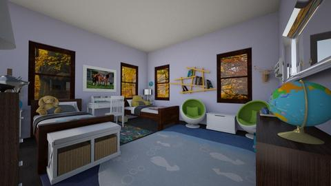 Westchester Kids' Room - Eclectic - Kids room - by lauren_murphy