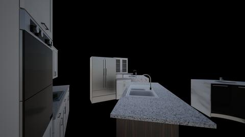 house kitchen  - Kitchen  - by BriRodri13