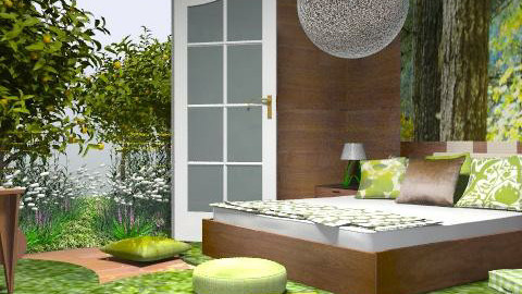 spring forest - Eclectic - Bedroom  - by chania