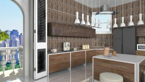 Ivory - Modern - Kitchen  - by ATELOIV87