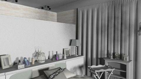 hálószoba gardróbbal03 - Classic - Bedroom  - by Audrey17