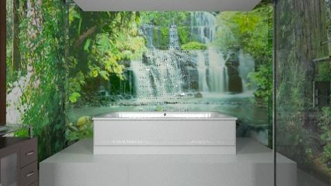 Bathing in Serenity - Minimal - Bathroom - by chloedaniella