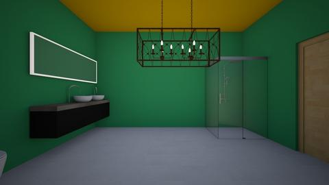 Wash up - Modern - Bathroom  - by rmoral9662