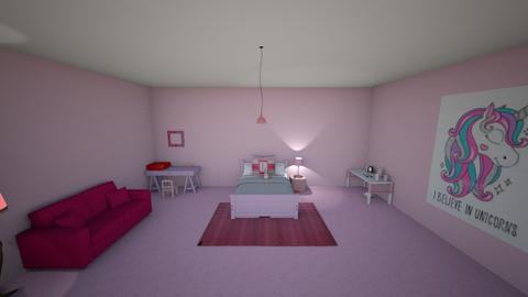 Pink glam - Glamour - Bedroom  - by I_Am_Ayesha