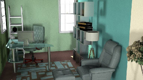 MillyC - study - Modern - Office  - by hunny