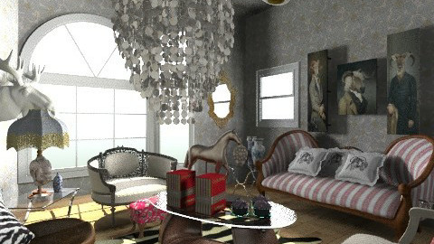 fakessi 2 my style  - Glamour - Living room - by ladyfakessi