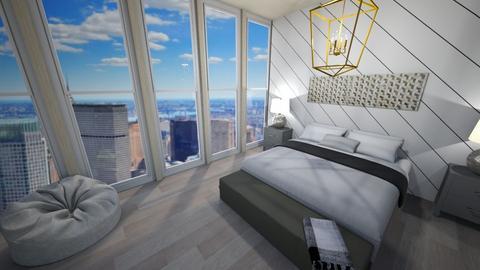 New York view2 - Bedroom  - by Hamzah luvs cats