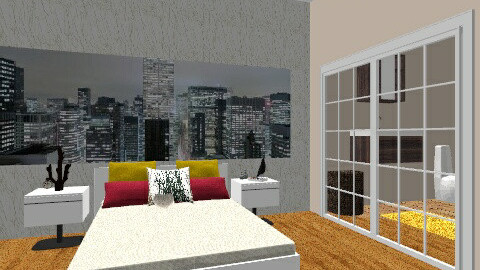 quarto de hotel - Eclectic - Bedroom  - by ana rita