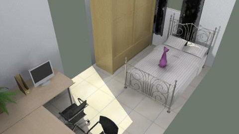 cat - Minimal - Bedroom  - by newciv