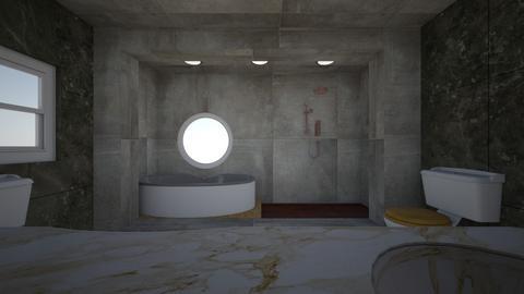 Circle - Bathroom - by fierceblade