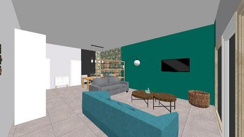 Woonkamer - Living room  - by Mirei30