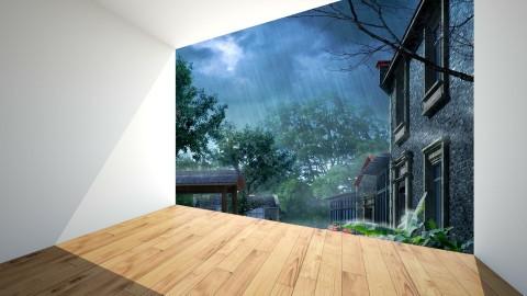 Rainy Day - Country - by Uroosa Bint E Haroon