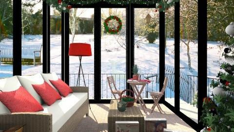 garden Christmasx - Garden  - by milyca8