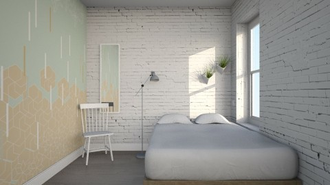 Living Light - Minimal - Bedroom  - by Maria Esteves de Oliveira